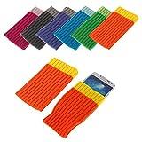 Bralexx ZS2244 Textil Socke für Apple iPhone 6 11,9 cm (4,7 Zoll) (Größe: XL) orange