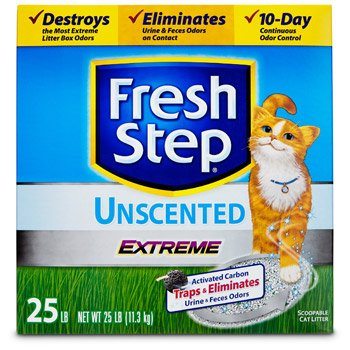 ever-clean-10044600308590-fresh-step-25-lb-scoop-able-unscented-cat-litter-extreme-odor-control