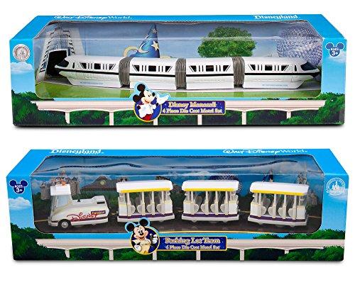 Disney Monorail 2017 Disney Theme Parks Transportation - Walt Disney Parks Model Parking lot tram Die-Cast Exclusive 2-Pack