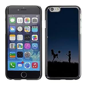 LASTONE PHONE CASE / Carcasa Funda Prima Delgada SLIM Casa Carcasa Funda Case Bandera Cover Armor Shell para Apple Iphone 6 Plus 5.5 / deti siluety noch myach igra