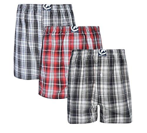 Cotton Boxer Broadcloth Shorts - Ecko Unltd. Men's Ecko 3pk Woven Boxers