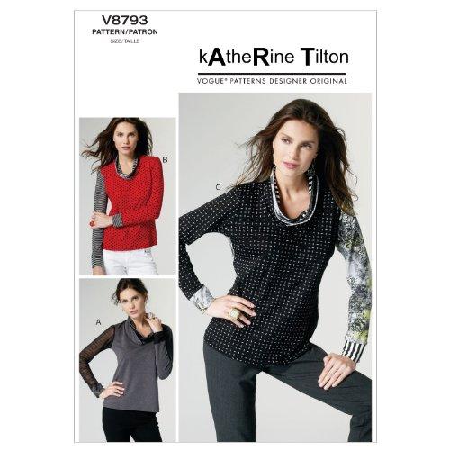 Vogue Patterns V8793 Misses Top, Size Y (Vogue Patterns Tops)
