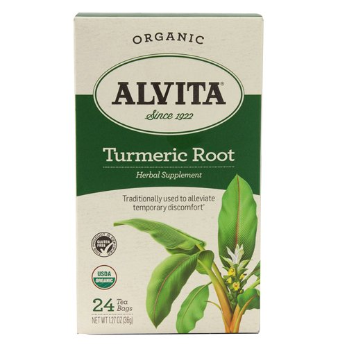Alvita Organic Herbal Tumeric Tea, 24 -