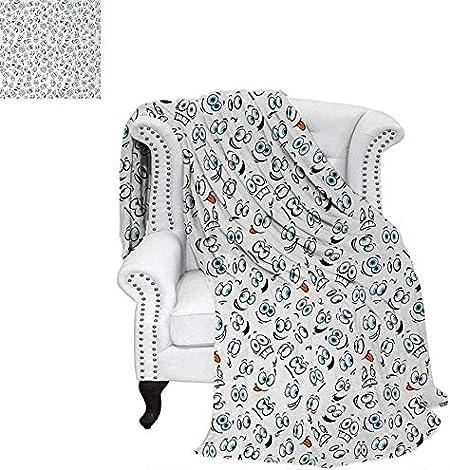 Légère Couverture Pop Art Style Dessin Animé Icônes Licorne
