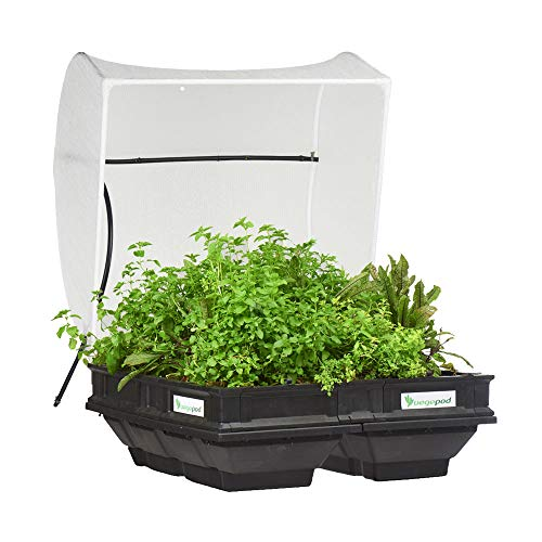 Vegepod - Raised Garden Bed Kit for Vegetables - Self Watering Container Garden with Protective Cover, Easily Elevated to Waist Height, 10 Years Warranty (Medium, Vegepod)