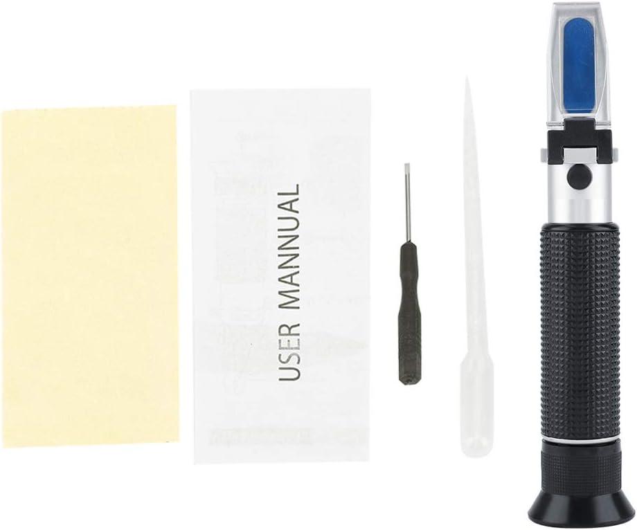 Brix Refracto Meter 3 In 1 Salinometer Portable Food Sugar Salinity Gravity Tester