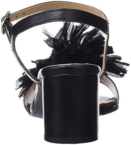 Aperta Donna 45267 Black col Scarpe Nero Tacco Gioseppo Punta AOSnwaxXAq