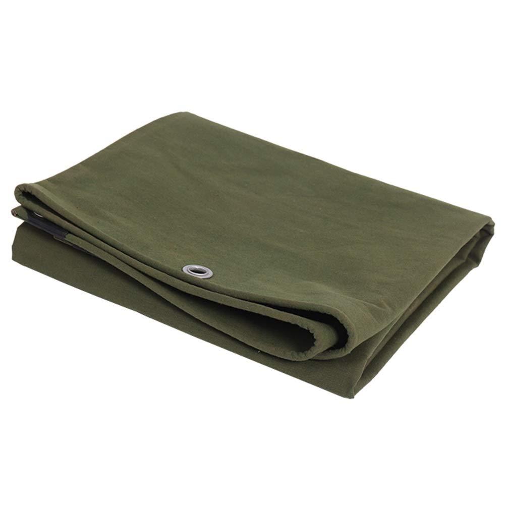BAIYING BÂche Couverture épaissie 0.6mm De Plein Air Crème Solaire Pergola Voiture De Couverture Hangable Tissu Imperméable Boucle en Métal, 14 Tailles (Couleur   vert, Taille   2.8X3.8m) vert 2.8X3.8m