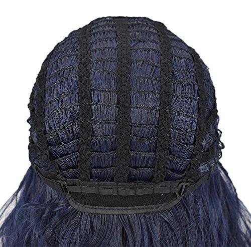 JIAFA 16 Pulgadas Mujer Peluca Alto Temperatura Seda Mullido Chinos Pelo Largo Realista Peluca Conjuntos: Amazon.es: Hogar