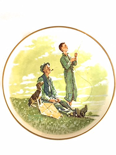 Norman Rockwell Limited Edition Collector Plate - Soaring Spirits