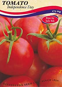 Amazon Com Independence Day Tomato Seeds 175 Mg Vegetable Plants Garden Amp Outdoor