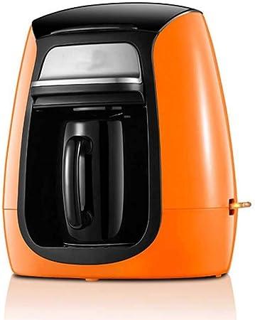 LYYJIAJU Filtro de café de la máquina, Copa Individual Cafetera Inicio automático por Goteo Pequeño pote del café del café instantáneo, café Express, con Anti-Goteo Función: Amazon.es: Hogar