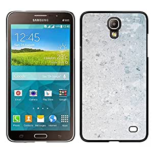MOBMART Carcasa Funda Case Cover Armor Shell PARA Samsung Galaxy Mega 2 - Plain White Gravel Wall