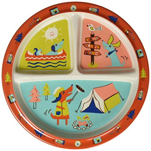Sugarbooger Divided Suction Plate, Happy (Sugar Booger Divided Suction Plate)