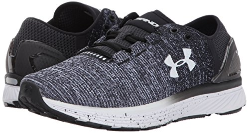 17abefab0 Under Armour Women's Charged Bandit 3 Running Shoe, Black (003)/White,
