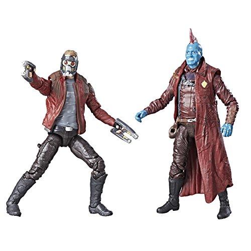 - Marvel C1402EL20 Legends Guardians of The Galaxy Star-Lord & Yondu Figure (Pack of 2)