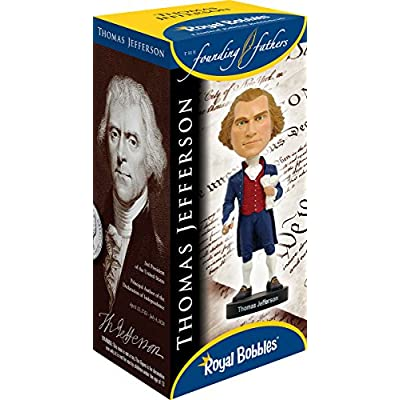Royal Bobbles Thomas Jefferson Bobblehead: Toys & Games