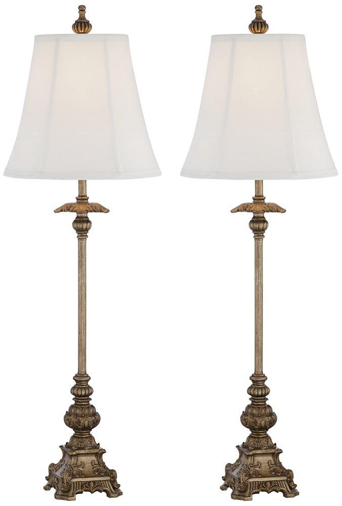 - Juliette Gold Buffet Table Lamps - Set Of 2 - - Amazon.com