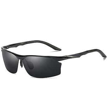 GAOLIXIA Moda Hombre conduciendo Gafas de Sol polarizadas ...