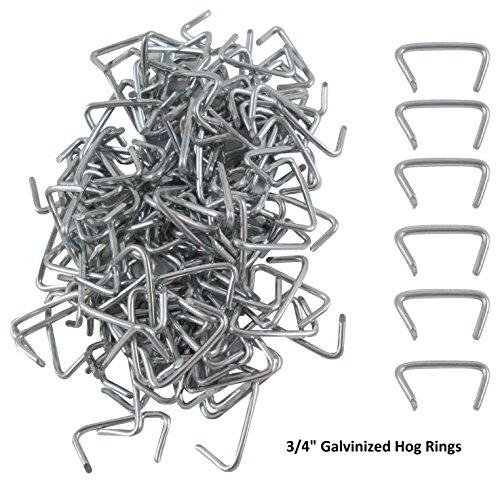 hog ring pliers  u0026 150 galvanized hog rings  professional