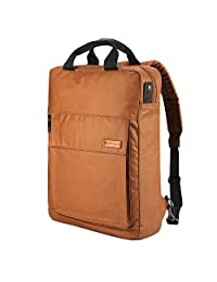 Casual Business Backpack, 2-Way Convertible Laptop Shoulders Bag, Working/College Day Packs