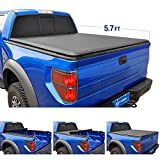 Tyger Auto T1 Roll Up Truck Bed Tonneau Cover TG-BC1D9046 Works with 2019 Ram 1500 New Body Style | Without Ram Box | Fleetside 5.7' Bed