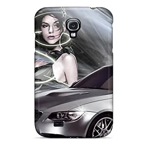 Shock Absorption Hard Cell-phone Case For Samsung Galaxy S4 With Unique Design Vivid Bmw Image SherriFakhry