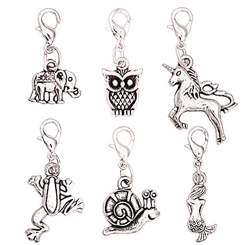 Top recommendation for zipper pull charms animals