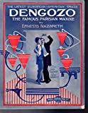 img - for Dengozo: The Famous Parisian Maxixe Tango (SHEET MUSIC) book / textbook / text book