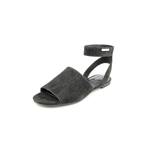 Calvin Klein Etta Donna Nero Camoscio Scarpe Sandali Taglia EU 37 6f76a940e80