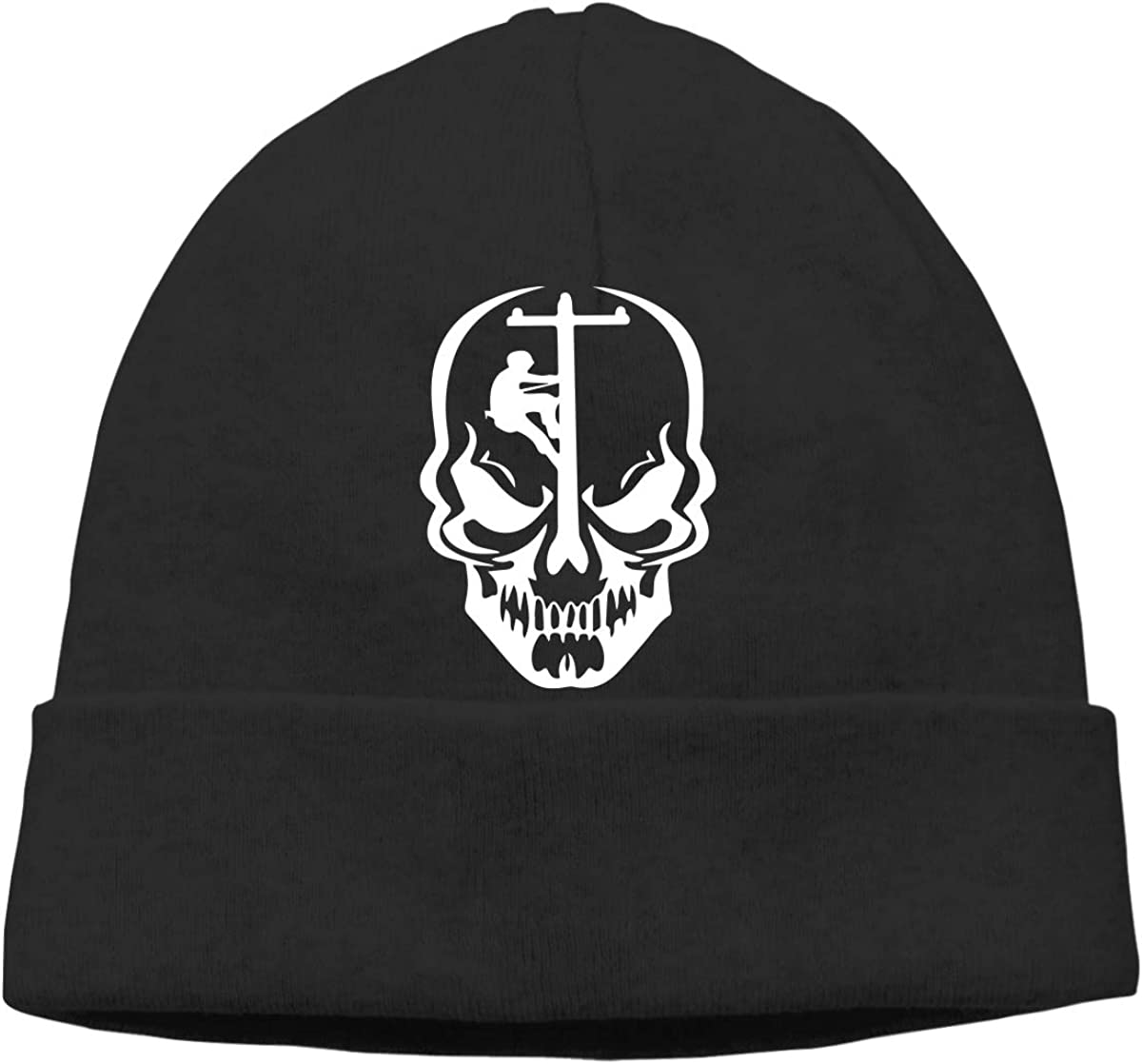 GDSG5/&4 Lineman Skull Unisex Knitting Wool Warm Surf Beanie Hat