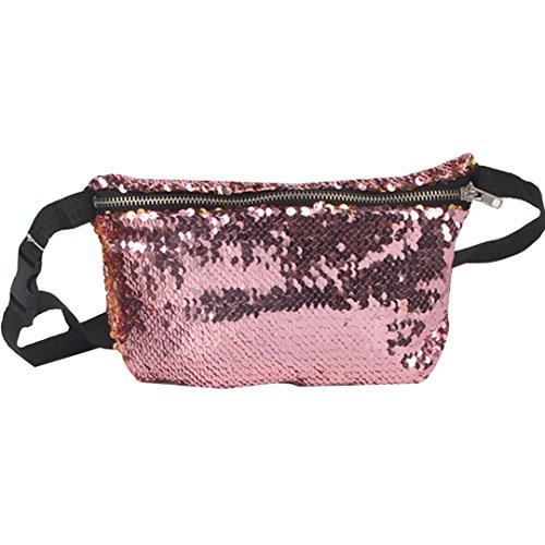 Waist bags women travel waist bag (Pink) - 6