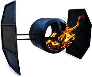 Fire Pit Plans DIY Star Wars Fighter Outdoor Garden Backyard Patio Heater Decor