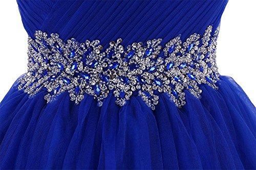 Abiti Damigella Da Tulle Asbridal Womens Orchidea Casa Innamorato Perline Prom Ritorno Breve A 4Igxqw