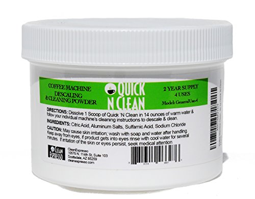 Coffee Machine Cleaner & Descaler by Quick 'N Clean