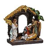 Kurt Adler N0295 9'' Painted Holy Family Tablepiece