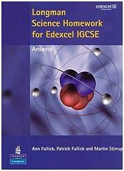 Longman Science Homework for Edexcel IGCSE Answers