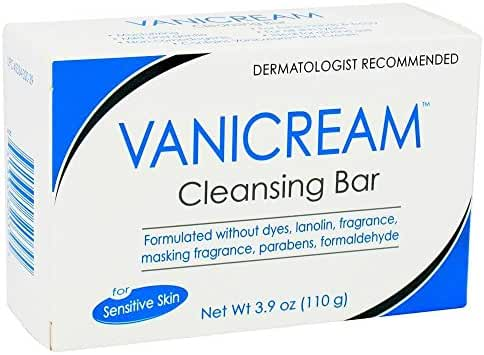 Pharmaceutical Specialties 320-39 Vanicream Cleansing Bar 3.9oz (Pack of 6)