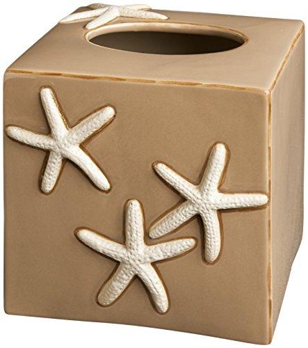 (Carmel Ceramica HTBS1008 Sand Tissue Box)