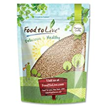 Food To Live Hard Red Winter Wheat (Wheatgrass) Seeds for Sprouting (1 Pound)