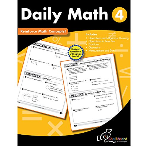 Daily Math Grade 4 (Chalkboard Books)