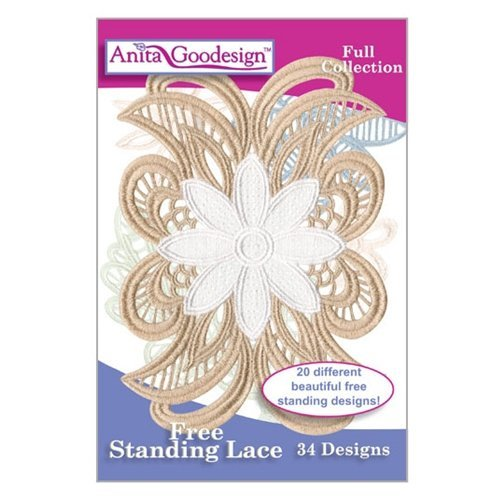 Anita Goodesign ~ Free Standing Lace ~ Embroidery Designs CD by Anita Goodesign