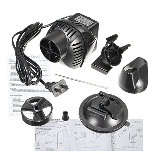 New WM-1800 220V 12W Aquarium Wave Maker 3000LPH Fish Tank Water Pump