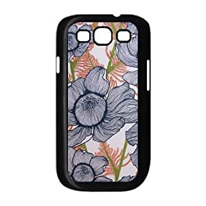 Pink Floral Custom Cover Case for Samsung Galaxy S3 I9300,diy phone case ygtg570159