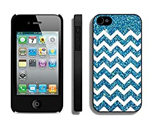 BINGO Best price Anchor Glitter iPhone 4 4S Case Black Cover by lolosakes
