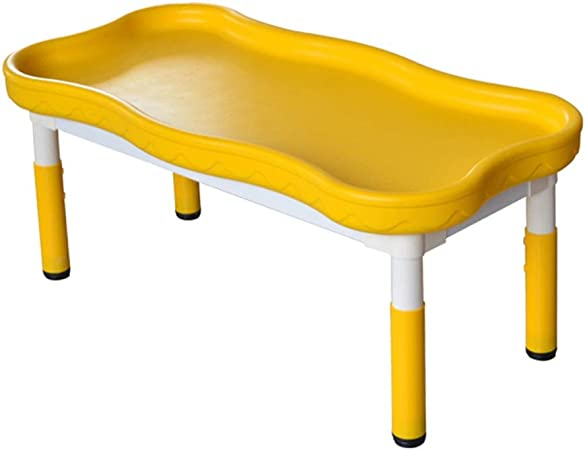 ZHAOHUI-Ensembles Table et Chaise pour Enfants Rectangle ...