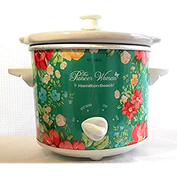 Pioneer Woman Fiona Floral 1.5 qt Slow Cooker ~ Navy Blue ~ NEW