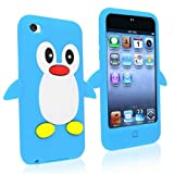 Best Cases For I Pod Touch 4 Gs - eForCity Cute Cartoon Penguin Silicone Gel Case Review