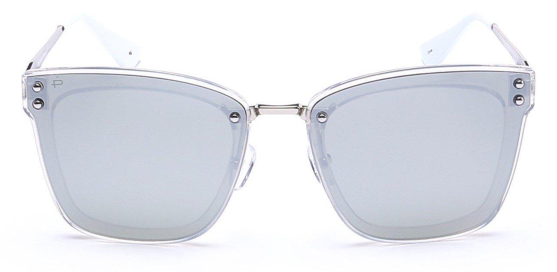 """ویکالا · خرید  اصل اورجینال · خرید از آمازون · PRIVÉ REVAUX """"The Nasty Woman"""" Handcrafted Designer Polarized Futuristic Sunglasses For Women wekala · ویکالا"""