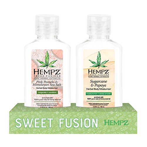 Hempz Sweet Fusion 2.25 oz Bundle Inspired By Nature - Light